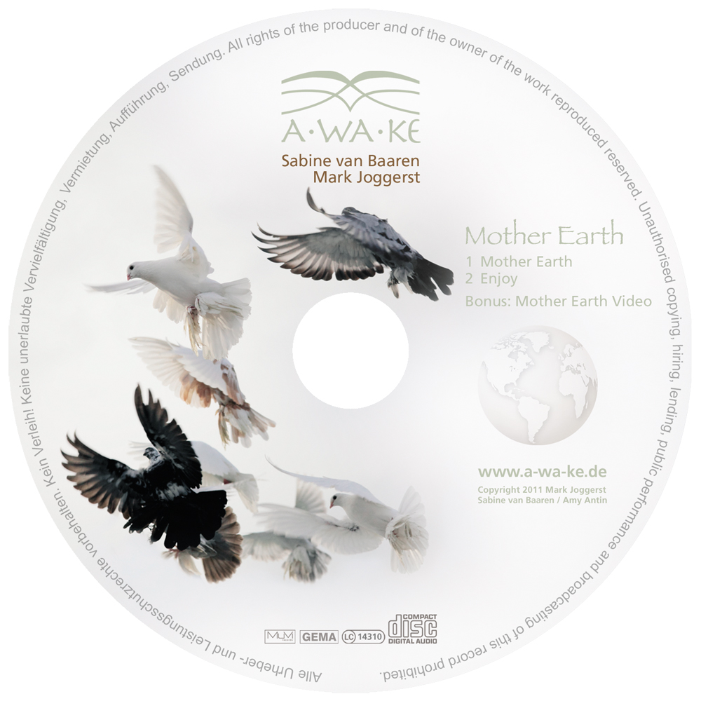 CD Label | AWAKE | Sabine van Baaren und Mark Joggerst