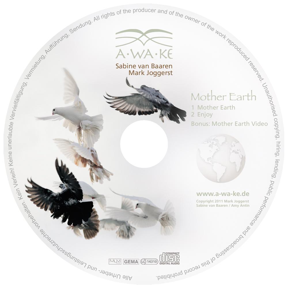 CD Label | AWAKE | Sabine van Baaren und Mark Joggerst