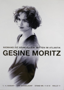Gesine Moritz   Modedesignerin   Messeplakat