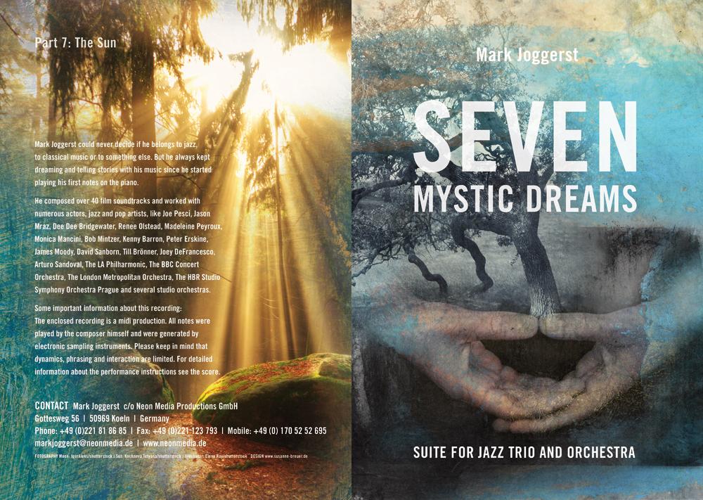 Seven Mystic Dreams   Mark Joggerst   Broschüre   Titel und Rückseite
