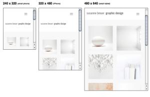 Responsive Webdesign Bildschirmgrößen