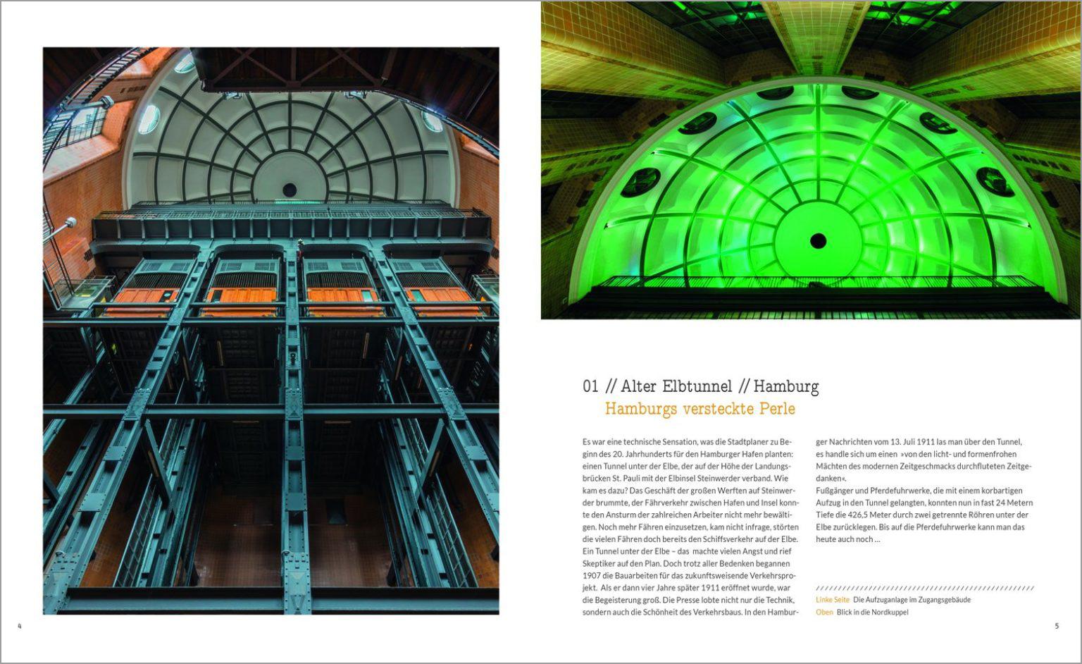 Deutschland Unterirdisch | Innenseite | Susanne Breuer Grafikdesign Köln